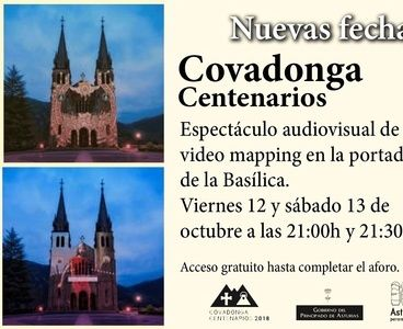 Video mapping Basílica de Covadonga los 12 y 13 O