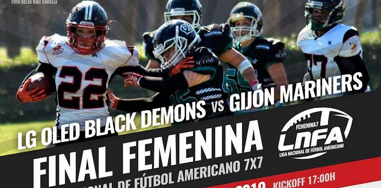 Las Mariners disputan la final de la LNFA 7x7 ante las Black Demons