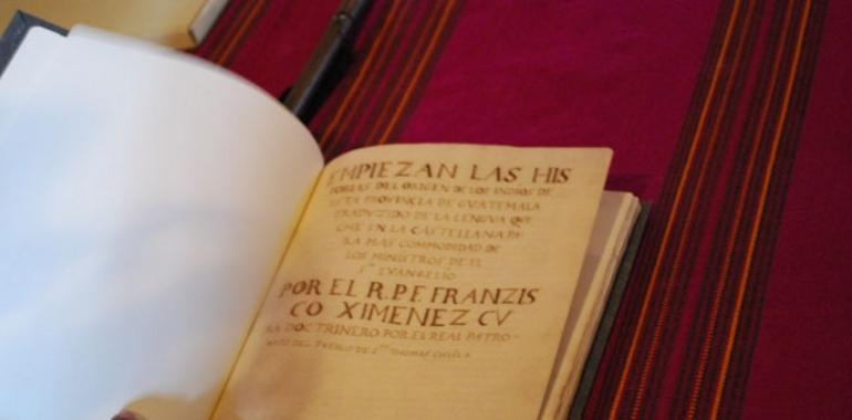 Popol Vuh, más que un libro ancestral . Asturias Mundial