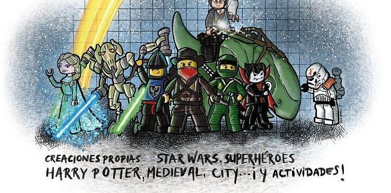 Star Wars, Harry Potter y Marvel son de Lego en Los Prados