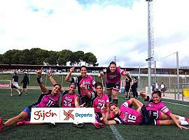 Las gijonesas del Foxes 82 ganan la FLAG FOOTBALL