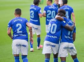 El Real Oviedo sella la permanencia