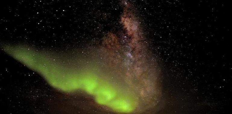 Las luces del Sur sobrecogen Concordia. Asturias Mundial