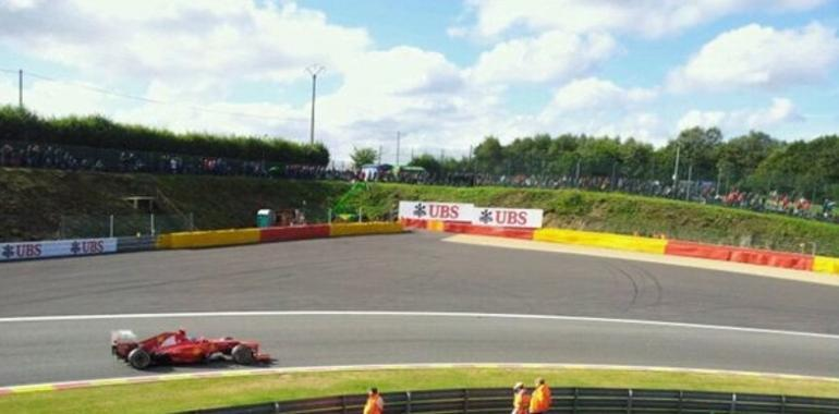 Pole para Button en Spa, Alonso sexto