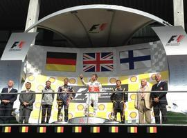Button se impone en Spa