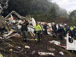 Ya son 76 los fallecidos en accidente del Chapecoense