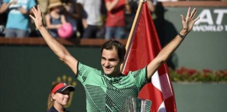 Federer gana su 5º Indian Wells al vencer a Wawrinka