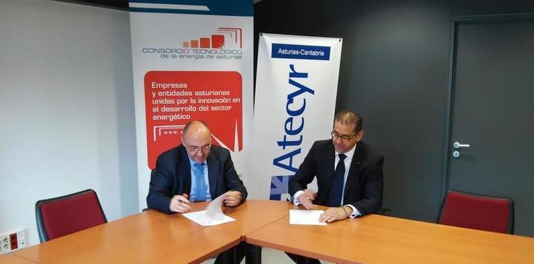 Convenio de colaboraci n entre ainer asturias y atecyr for Convenio oficinas tecnicas