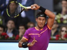 Nadal pasa a la final en Madrid tras vencer a Djokovic