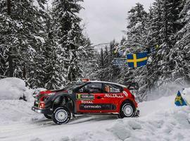 Citroen Racing  en el Rally de Suecia
