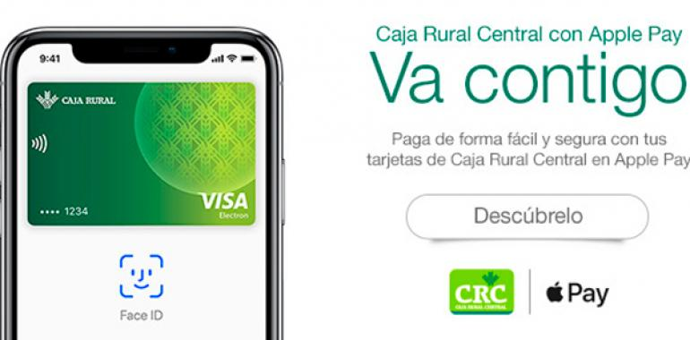 Caja Rural de Asturias lanza Apple Pay