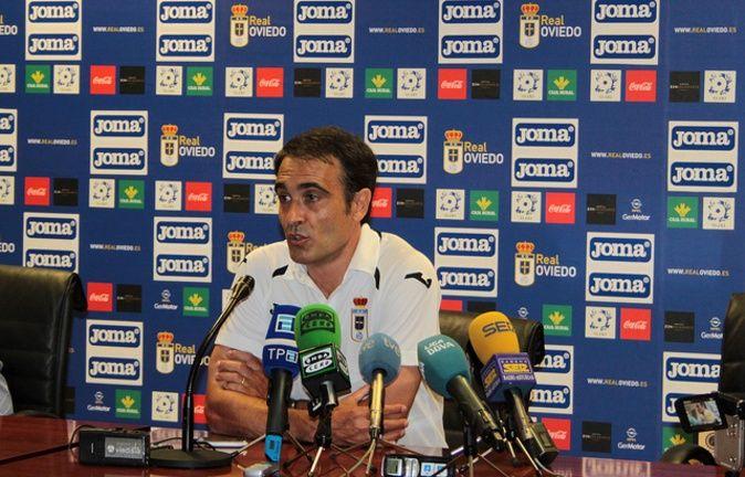 Felix Sarriugarte en la rueda de prensa.
